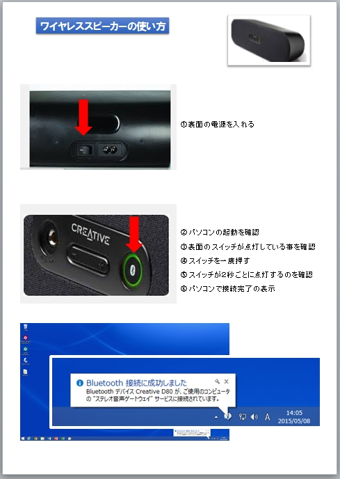 CREATIVE D80 Bluetooth スピーカー